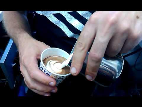 T&J Coffee:  малюємо на какао (Barista Rivne Latte Art)