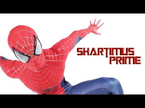 Hot Toys Amazing Spider-man 2 Mms 244 Movie Masterpiece 1:6 Scale Spiderman Action Figure Review video