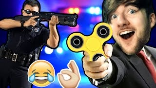 I almost got ARRESTED for my FIDGET SPINNERS!!