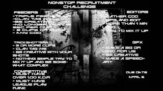 Recruitment Challenge for NoNSToP (Closed)