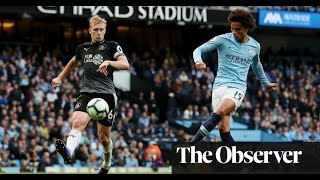 Manchester City hammer Burnley with Leroy Sané adding the finishing touch