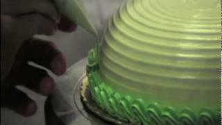 創意蛋糕裝飾示範