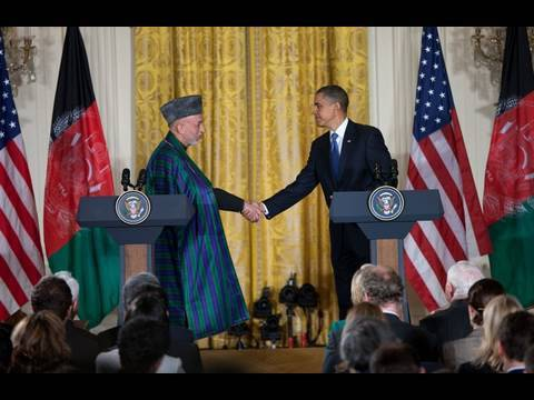 President Obama and President Karzai Press Availability
