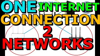 Share One Internet Connection With Two Private Networks Thorough