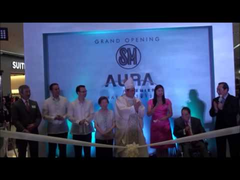 SM Aurea Premier ribbon-cutting