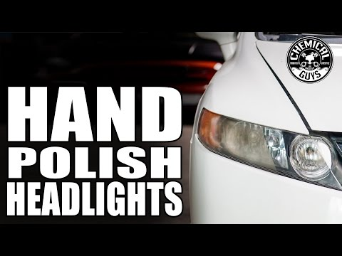 How To Restore Headlights By Hand! - Honda Civic - Chemical Guys Car Care