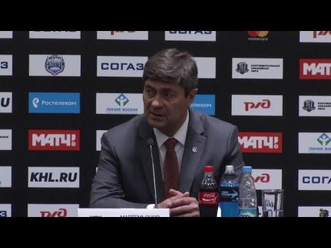 Сочи – Амур: пресс-конференция (24.08.2017)
