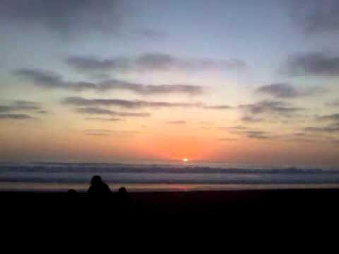 Atardecer en Cartagena. Abril 2012. Playa Grande