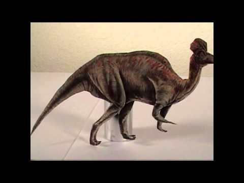 Lily and the Corythosaurus - School Project