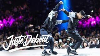 Download Lagu Juste Debout Hip Hop Final 2018: Diablo & Stalamuerte vs. Niako & Icee Gratis STAFABAND