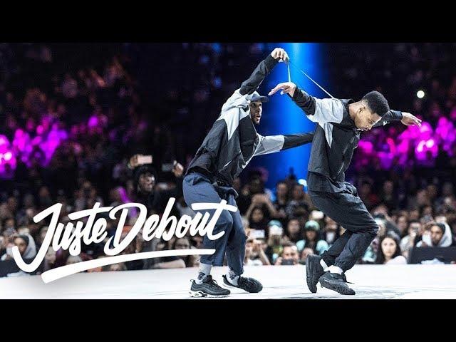 Juste Debout Hip Hop Final 2018: Diablo & Stalamuerte vs. Niako & Icee