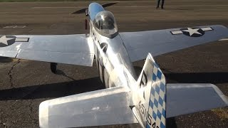 RC Model Airplane Mustang P-51D Excalibur North American  by U. Maylander