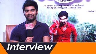Atharvaa's Interesting Experiences in Chandi Veeran | Interview