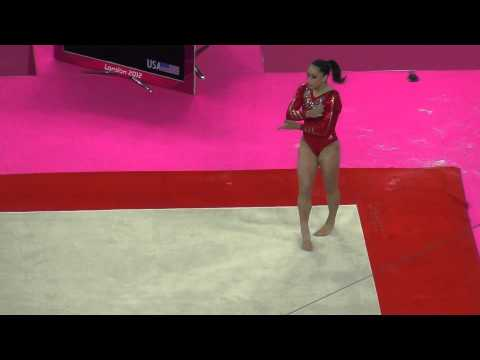 Jordyn Wieber (USA) Floor Exercise, Team Final, London 2012
