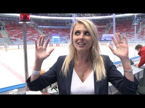 Дарья Миронова дебютировала в роли судьи-информатора / Daria Mironova tried out as stadium announcer