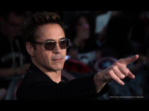 real iran man world's top-earning actor Robert Downey Jr.