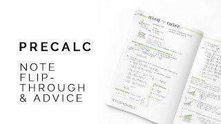 Math Advice + Notes Flipthrough