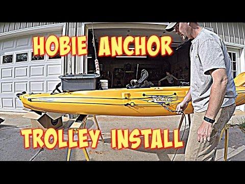 Hobie Anchor Trolley Install