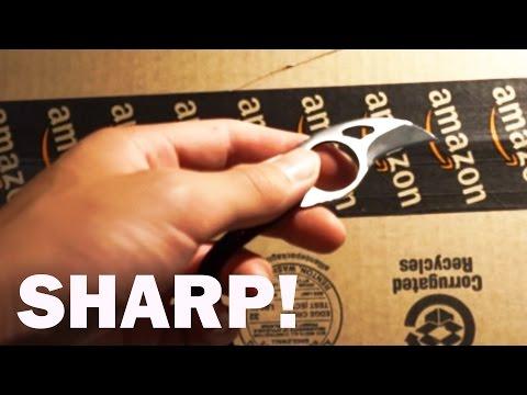 Mini Karambit Sharpness Test (Mini Karambit Review)