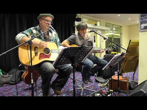 Paper Pirates Acoustic Duo - Camden Sports Club, 26 September 2014
