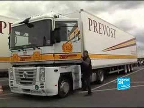 France: Truck drivers facing oil raising prices