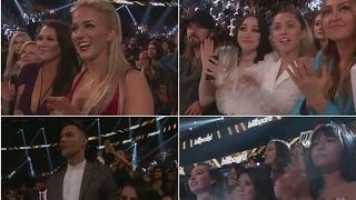Crowds reaction when BTS won Top Social Artist Award #BBMAs