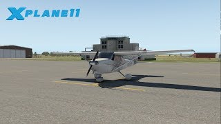 Cessna 172 Skyhawk flight | X-Plane 11