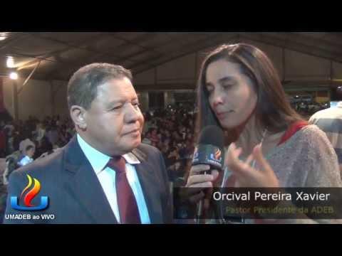 UMADEB 2013  Dia 12-02 - Entrevista Pr. Orcival Preira Xavier