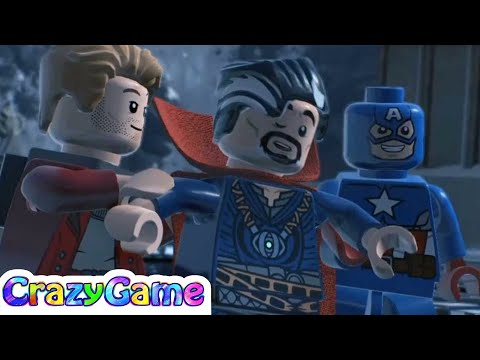 LEGO Marvel Super Heroes 2 100% Walkthrough #18 The Road To Knowhere (Minikit, Stan Lee, Ant-Man)