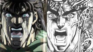 Jojo's Bizzare Adventure: Diferencias Manga-Anime
