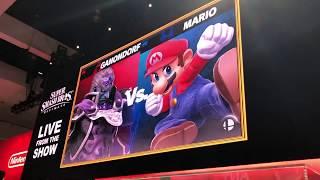 Ganondorf vs. Mario - Super Smash Bros. Ultimate E3 2018