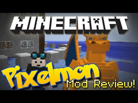 Minecraft   PIXELMON MOD!   Pokemon in Minecraft! [1.4.7]