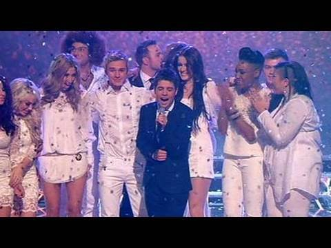 The X Factor 2009 - Joe sings his winning single! - Live Final (itv.com/xfactor)
