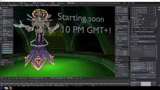 WoW Blender Studio Alpha Showcase - Blender World of Warcraft Asset Import / Export addon