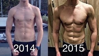 Epic 1 Year Body Transformation - Calisthenics Unity