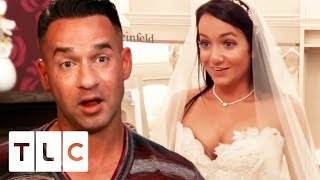 Mike Sorrentino Helps His Baby Sister Find A Wedding Dress | Say Yes To The Dress US