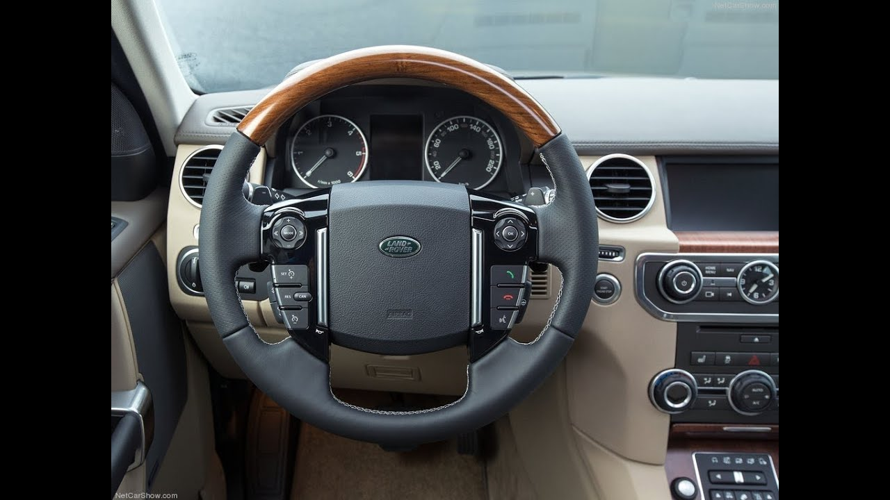 New land rover discovery 2015 interior youtube