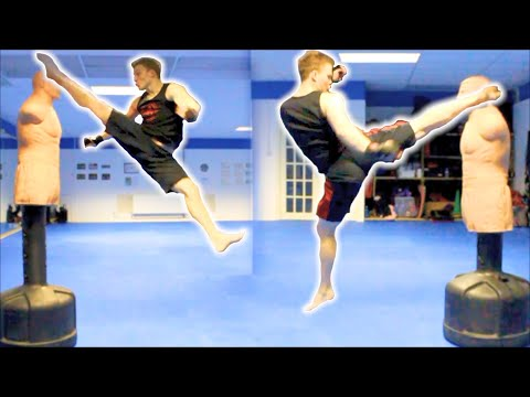 Taekwondo Kickboxing Techniques Sampler on the BOB XL