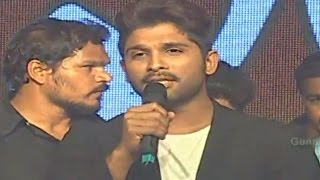 Allu Arjun Super Speech - Rudhramadevi Audio Launch @ Warangal - Anushka, Rana