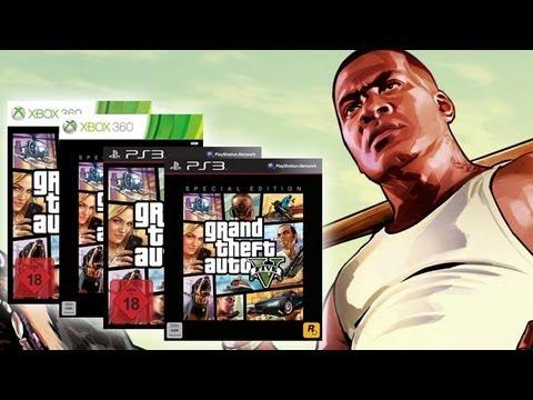 GTA 5 – Unboxing der Standard- & Special Edition für PS3 & Xbox 360