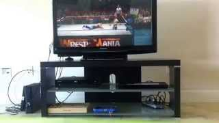 HWE wrestlemania 1 debut match John cena vs sgtslaughter