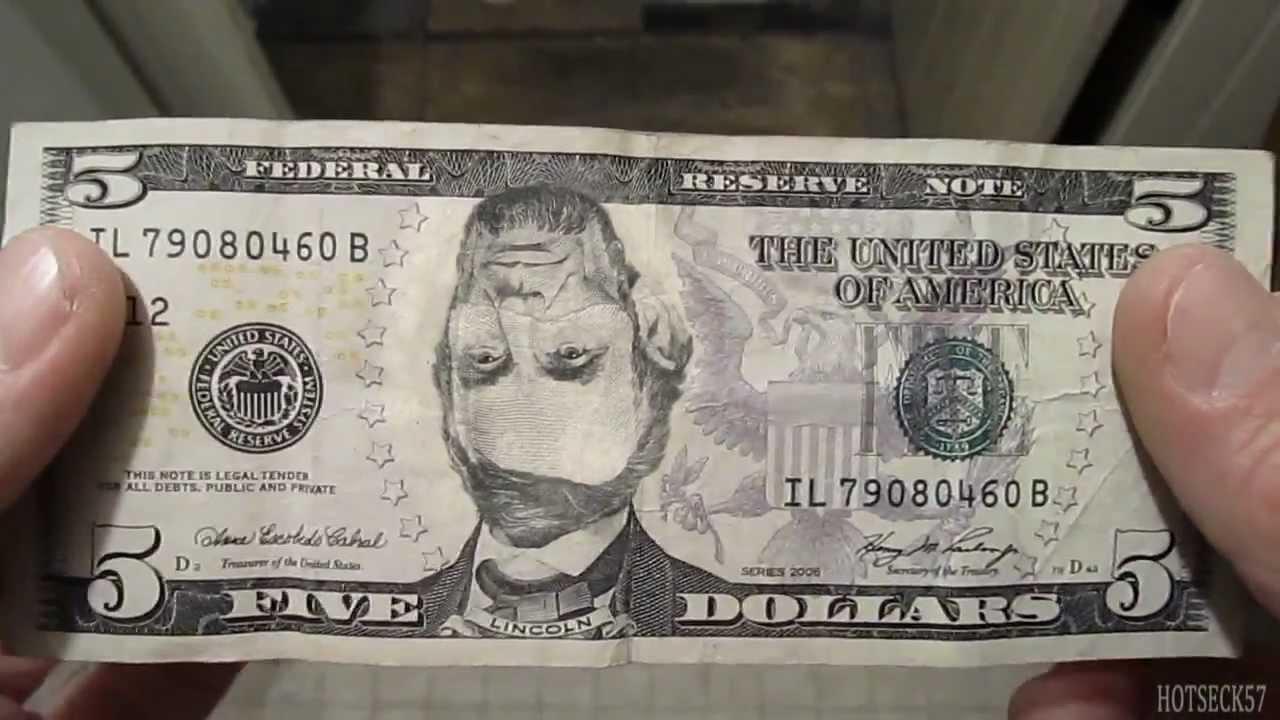 Funny Five Dollar Bill Youtube