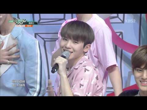 [HD 1080p] 160429 SEVENTEEN - Chuck + Pretty U @ Music Bank Comeback Stage