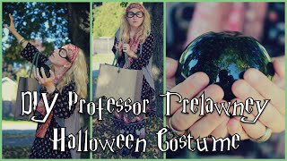 DIY Professor Trelawney Halloween Costume