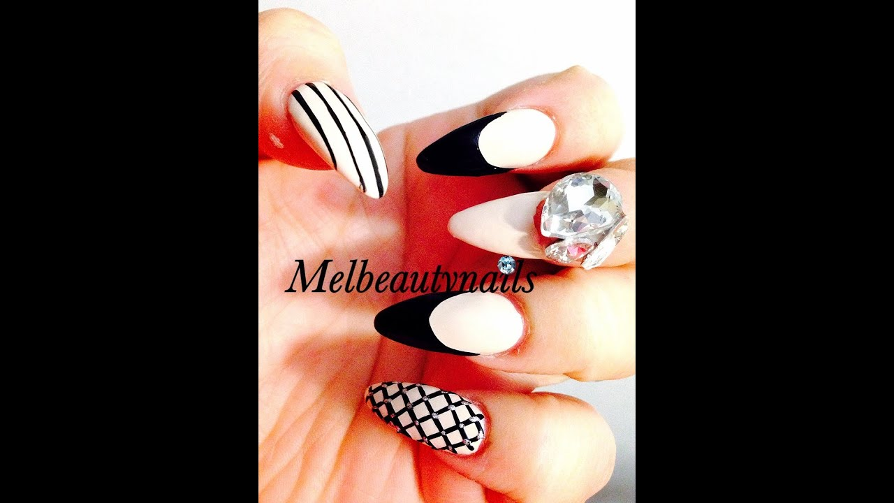 51 Stunning Stiletto Nails Designs with Images