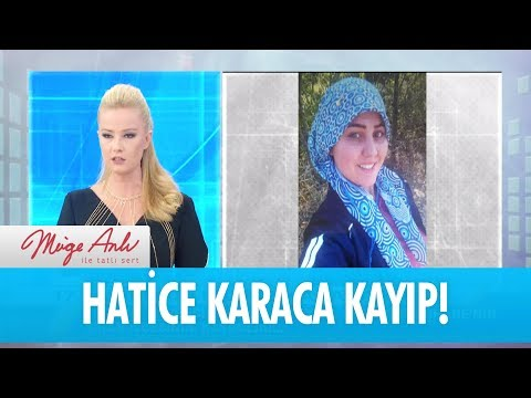 17 yaşındaki Hatice Karaca kayıp! - Müge Anlı İle Tatlı Sert 30 Kasım 2017