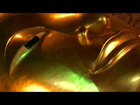 Lying Buddha, Bangkok – huge Gold Buddha lies in Wat Pho / Liegender Buddha in Wat Pho
