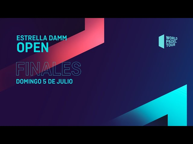 Play this video Finales - Estrella Damm Open 2020  - World Padel Tour