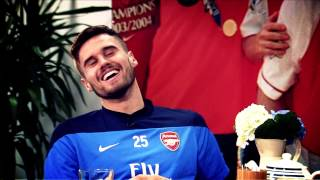 Arsenal are on YouTube!!!