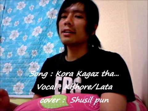 Kora Kagaz Tha Yeh Mann Mera Cover By Shusil Pun video